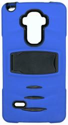 LG LS770 STYLO MM Kickstand Case Blue