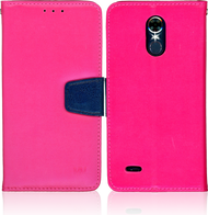 LG Stylo 3 MM Executive Wallet Pink