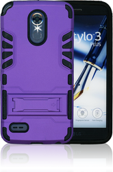 LG Stylo 3 MM Slim Dura With Kickstand Purple