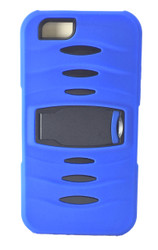 LG TRIBUTE 2 / C40 LEON MM Kickstand Case Blue