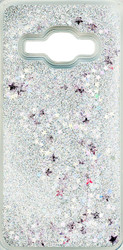 Samsung Galaxy J1(2016)  Water Glitter With Stars Silver