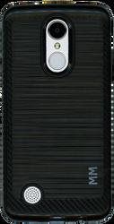 LG Aristo MM  Carbon Fiber Metal Black