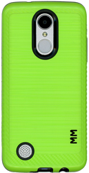 LG Aristo MM  Carbon Fiber Metal Green