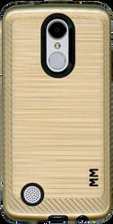LG Aristo MM  Carbon Fiber Metal Gold