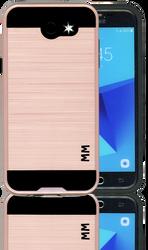 Samsung Galaxy J3 Emerge Slim Dura Metal Finish Rose Gold