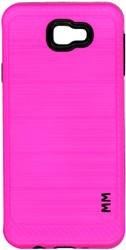 Samsung Galaxy J5 Prime MM  Carbon Fiber Metal Pink