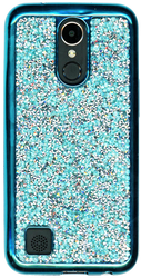LG K20 PLUS  MM Candy Bling Case Blue
