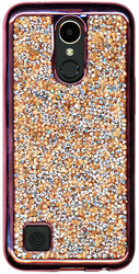 LG K20 PLUS  MM Candy Bling Case Rose Gold