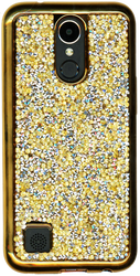LG K20 PLUS MM Candy Bling Case Gold