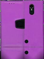 LG K20 PLUS   MM Executive Wallet Purple