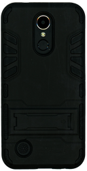 LG K20 PLUS   MM Slim Dura With Kickstand Black