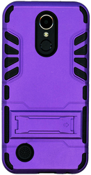 LG K20 PLUS   MM Slim Dura With Kickstand Purple