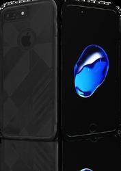 iphone 7 PLUS MM Digital Pattern Black