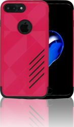 iphone 7 PLUS MM Digital Pattern Hot Pink