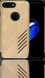 iphone 7 PLUS Digital Pattern Case Gold