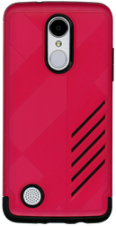 LG Aristo MM Digital Pattern Hot Pink