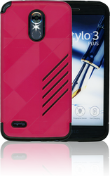LG Stylo 3  MM Digital Pattern Hot Pink