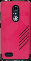 ZTE ZMAX PRO MM Digital Pattern Hot Pink
