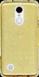 LG Aristo MM Glitter Hybrid Gold
