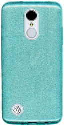 LG Aristo MM Glitter Hybrid Teal