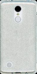 LG Aristo MM Glitter Hybrid Silver