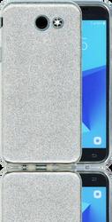 Samsung J3 Emerge MM Glitter Hybrid Silver