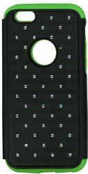 iphone 6/6S Dual Bling Case Green