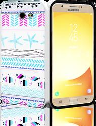 Samsung Galaxy J7(2017) MM Slim Dura Metal Teal Fish
