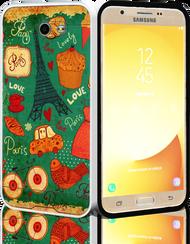 Samsung Galaxy J7(2017) MM Slim Dura Metal Paris Tower