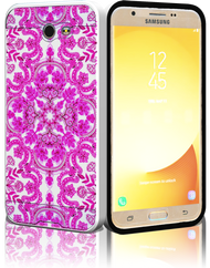 Samsung Galaxy J7(2017) MM Slim Dura Metal Tribal Pink