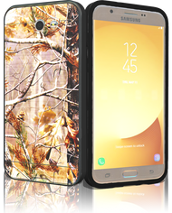 Samsung Galaxy J7(2017) MM Slim Dura Metal Finish Brown Camo &Black