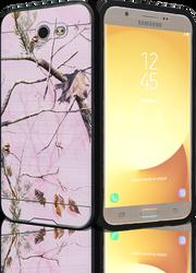 Samsung Galaxy J7(2017) MM Slim Dura Metal Finish Pink Camo&Black