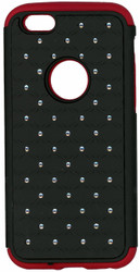 iphone 6/6S Dual Bling Case Red