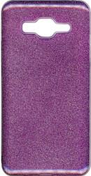 Samsung Galaxy ON5 MM Glitter Hybrid Purple