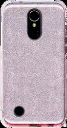 LG K20 PLUS MM Glitter Hybrid Rose Gold