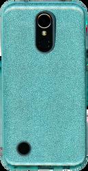 LG K20 PLUS MM Glitter Hybrid Teal