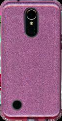 LG K20 PLUS MM Glitter Hybrid Purple