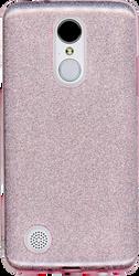 LG Aristo MM Glitter Hybrid Rose Gold
