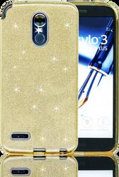 LG Stylo 3 MM Glitter Hybrid Gold