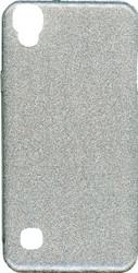 LG Tribute HD MM Glitter Hybrid Silver