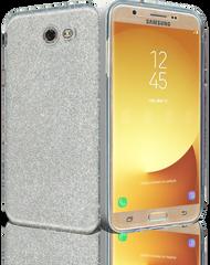 Samsung Galaxy J7(2017) MM Glitter Hybrid Silver