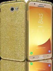 Samsung Galaxy J7(2017) MM Glitter Hybrid Gold