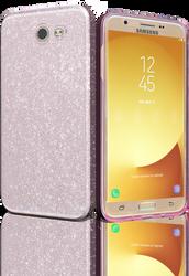 Samsung Galaxy J7(2017) MM Glitter Hybrid Rose Gold