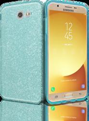 Samsung Galaxy J7(2017) MM Glitter Hybrid Teal