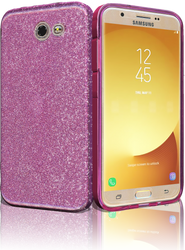 Samsung Galaxy J7(2017) MM Glitter Hybrid Purple