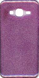 Samsung Galaxy J3 MM Glitter Hybrid Purple