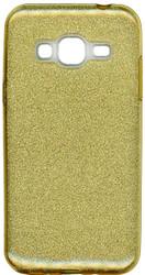 Samsung Galaxy J3 MM Glitter Hybrid Gold