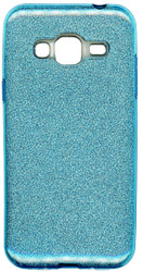 Samsung Galaxy J3 MM Glitter Hybrid Blue
