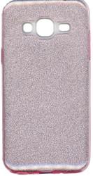 Samsung Galaxy J3 MM Glitter Hybrid Pink