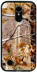 LG K20 PLUS MM Slim Dura Metal Finish Brown Camo&Black